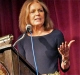 Gloria Steinem speaking at presentation