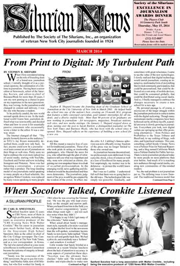 Silurian News March 2014